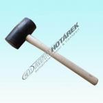 Gumová palička 0,70 kg (černá) - AKCE