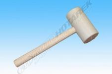 Gumová palice 1 kg (bílá)