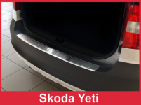 Ochranná lišta hrany kufru Škoda Yeti 2009-2013
