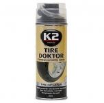 K2 TIRE DOKTOR utěsnění defektu 400ml