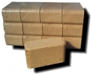 Brikety hranaté dřevěné 10kg