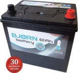 BJORN batterie Asie 12V / 60Ah P (BA0600)